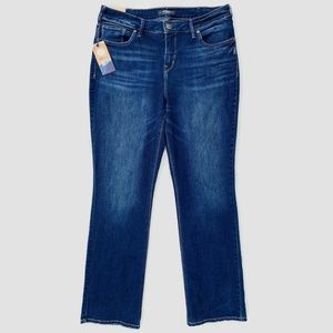Silver Jeans Avery High Rise Slim Boot Jeans 16